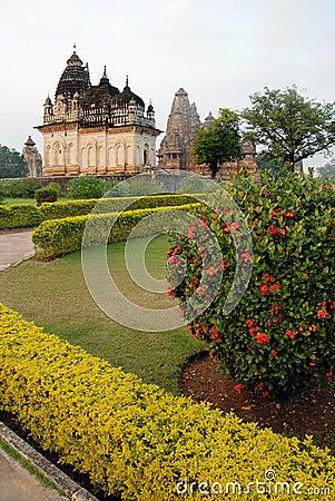 Khajuraho Temple in India