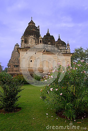 Khajuraho Temple in India