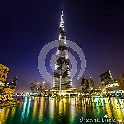 Khalifa Doubai van Burj