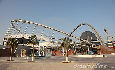 Khalifa International Stadium, Doha Editorial Photo