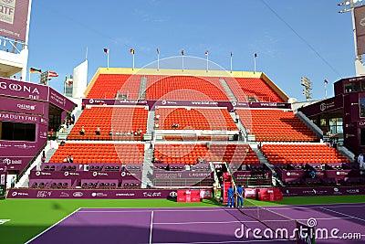 Khalifa Stadium Editorial Photography