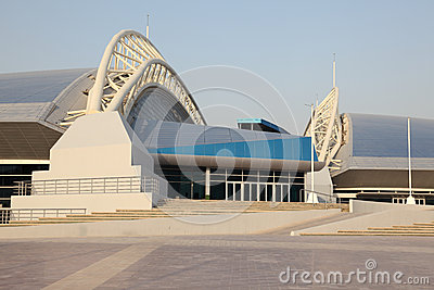Khalifa Stadium in Doha