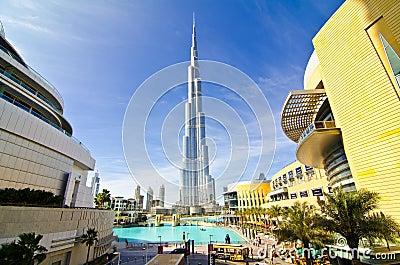 Khalifa Tower Editorial Stock Photo