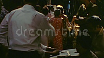 Khan al-Khalili Bazaar stock videobeelden