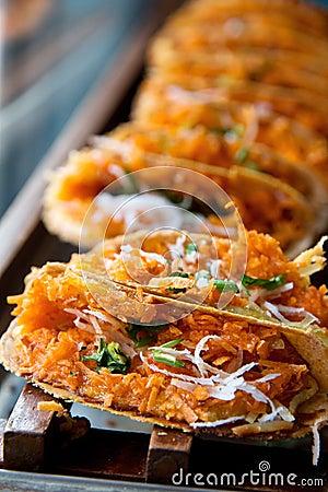 Khanom bueang, kind of Thai sweetmeat.