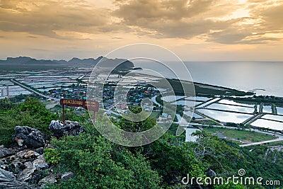 Khao Dang Viewpoint On The Mountain