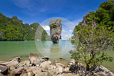 Khao Phing Kan called James Bond island