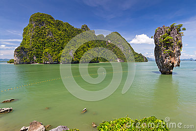 Khao Phing Kan island in Thailand