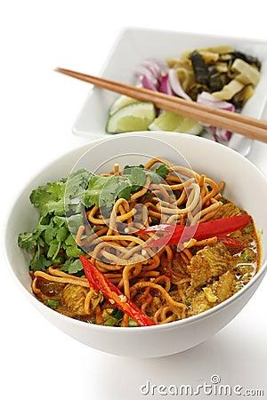 Khao soi , curry noodles , thai food