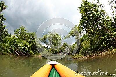 Khao Sok by canoe