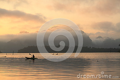 Khao Sok National Park Adventure. Stock Image - Image: 24630751