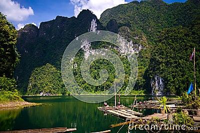 Khao Sok National Park. Thailand.