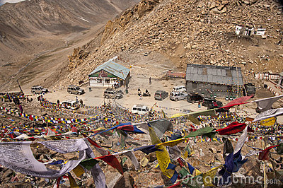 Khardung La Pass, Ladakh, India Editorial Photography