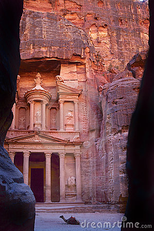 The Khaznet in Petra, Jordan