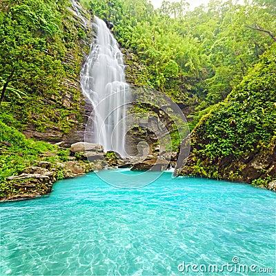 Free Khe Kem Waterfall Royalty Free Stock Images - 15246959