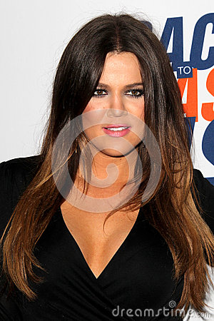 Khloe Kardashian arrives at the 19th Annual Race to Erase MS gala Editorial Photo