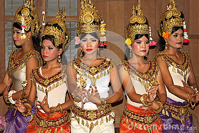 Khmer classical dance Editorial Stock Image
