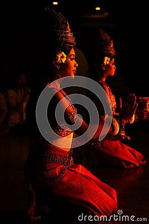Khmer dance Editorial Photo