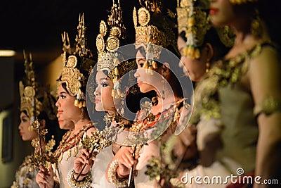 Khmer dance Editorial Photography