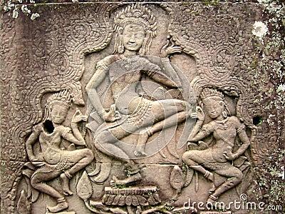 Khmer Megaliths of Cambodia/Angkor Wat - Unanswered Questions Khmer-dancers-angkor-wat-asparas-78145