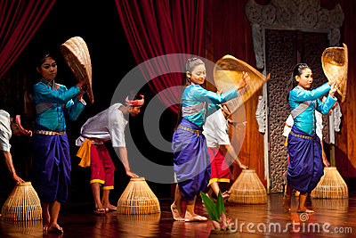 Khmer Folk Dance Editorial Photo