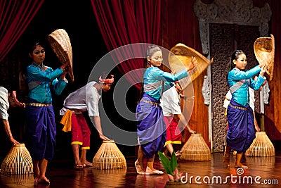 Khmer Folk Dance Editorial Photo