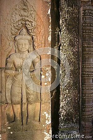 Khmer guard