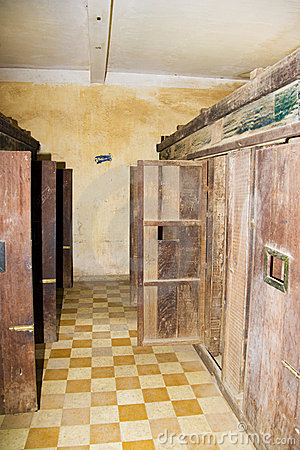 Khmer Rouge Prison Cells