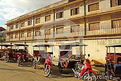 Khmer Rouge Prison, Phnom Penh Editorial Image