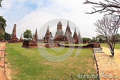 Khmer temple in Ayutthaya