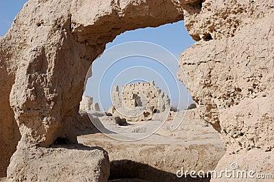 Khocho废墟