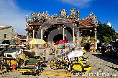 Khoo Kongsi Chinese Temple Editorial Image