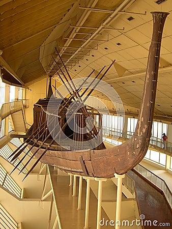 Khufu sun boat