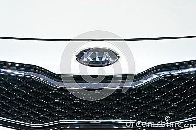 KIA Auto logo Editorial Image