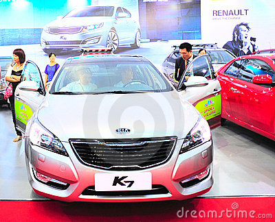 Kia k7 Editorial Image