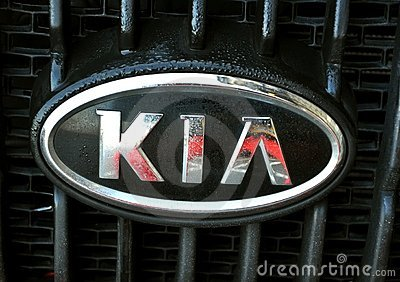 Kia logo Editorial Photo