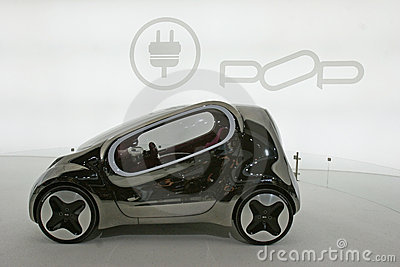Kia pop electric concept car Editorial Photo
