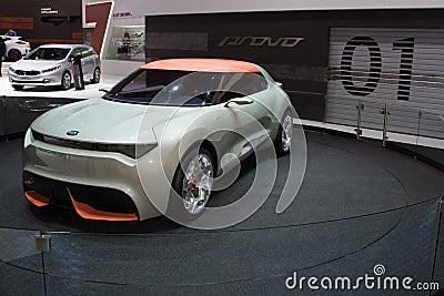 Kia Provo Concept World Premiere - Geneva Motor Show 2013 Editorial Image