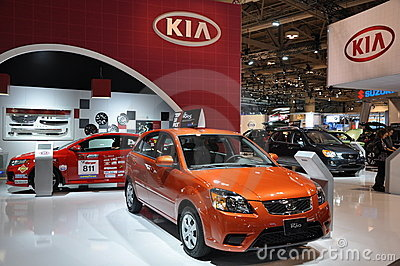 Kia Rio Editorial Photo
