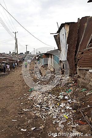 Kibera Kenya Editorial Stock Image
