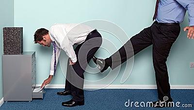 A kick up the backside