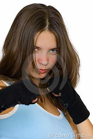 Kickbox girl