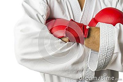 Kickboxer arms detail