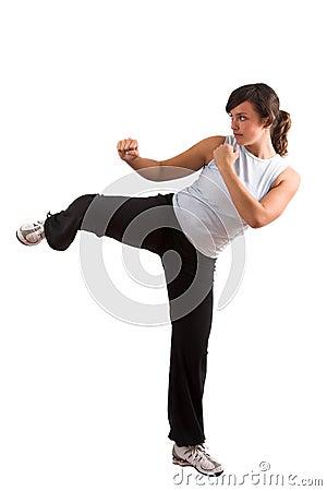 Free Kicking Some Stock Image - 1401191
