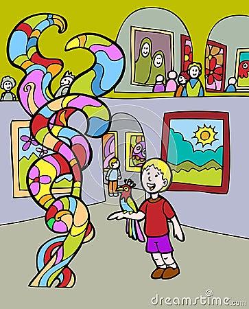 Kid Adventures: Museum Visit
