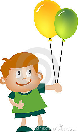 Free Kid And Balloon Stock Images - 913444