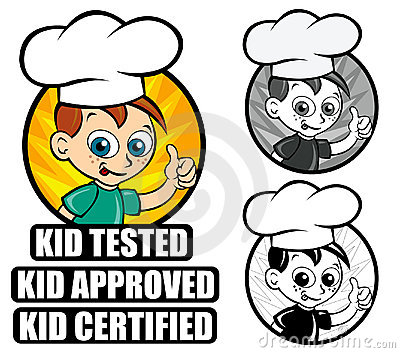 Kid Approved Icon version Chef