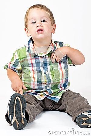 Kid with attitude