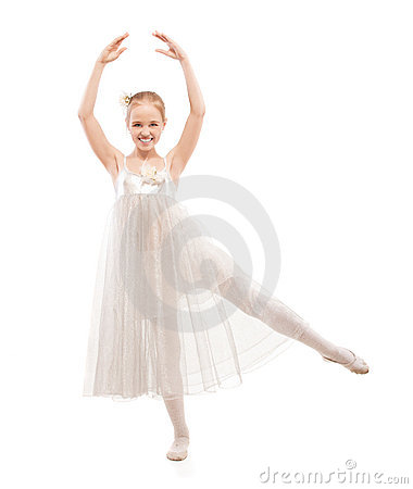 Kid ballet dancer