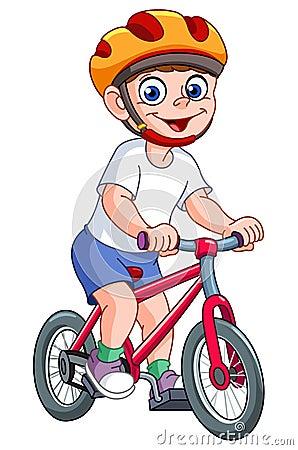 Kid On Bicycle Stock Photo - Image: 23621330